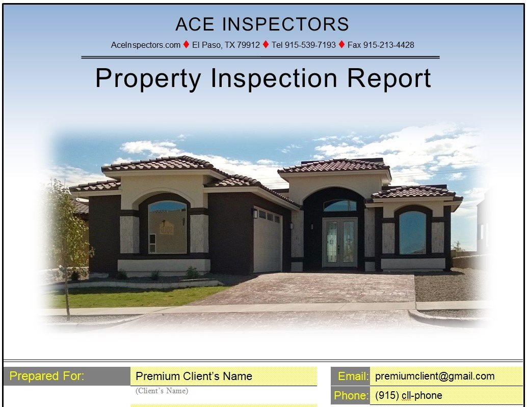 New Build Inspection Report